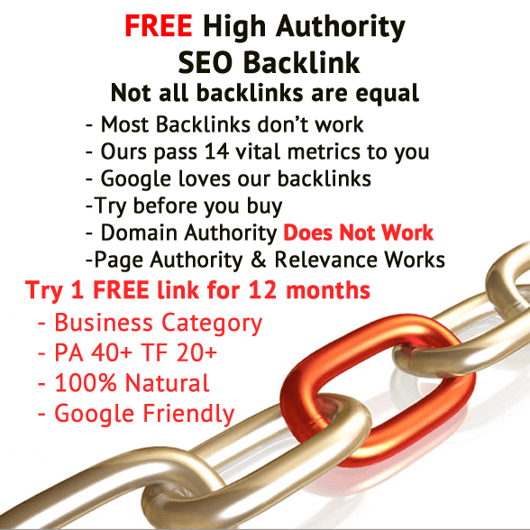 Free Backlink Offer